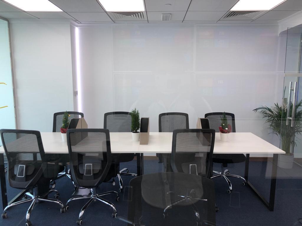 office interior design by Bright Point interior design company in Dubai